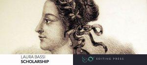 Laura Bassi scholarship (plakat)