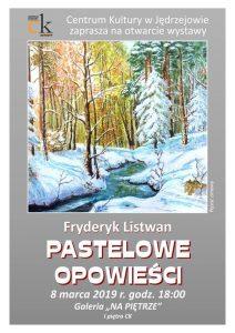 """Fryderyk Listwan """"Pastelowe opowieści"""" (zdjęcie okładki)"""