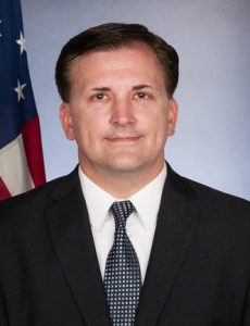 Dr. Patrick T. Slowinski, the U.S. Consul General in Cracow
