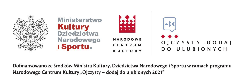 Logo Ministerstwa Kultury i Dziedzictwa Nartodowego i Sportu